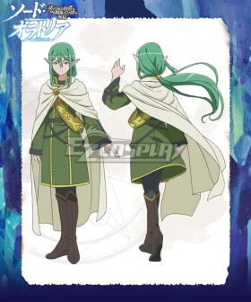 Sword Oratoria DanMachi Familia Myth Is It Wrong to Try to Pick Up Girls in a Dungeon Danjon ni Deai o Motomeru no wa Machigatteiru Daro ka Riveria Ljos Alf Cosplay Costume