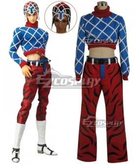 JoJo's Bizarre Adventure Guido Mista Cosplay Costume
