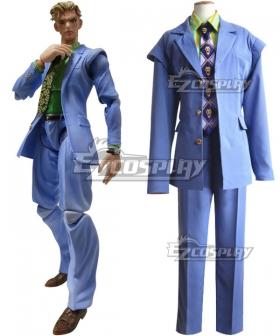 JoJo's Bizarre Adventure Yoshikage Kira Cosplay Costume