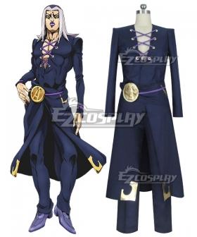 JoJo's Bizarre Adventure: Vento Aureo Golden Wind Anime Edition Leone Abbacchio Cosplay Costume