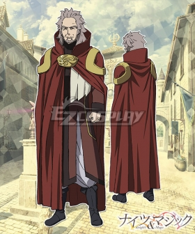 Knight's & Magic Anburoshiusu Tahavo Furemevira Cosplay Costume