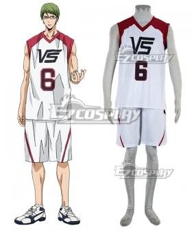 Kuroko's Basketball Last Game Shintaro Midorima Cosplay Costume