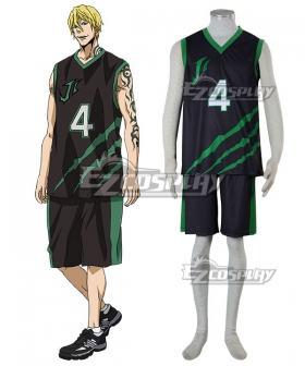 Kuroko's Basketball Last Game Nash Gold JR. Cosplay Costume