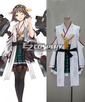 Kantai Collection KanColle Kanmusu Kongou Class Battleship Hiei Cosplay Costume