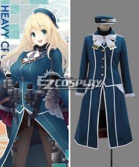 Kantai Collection Heavy Cruiser Atago Cosplay Costume
