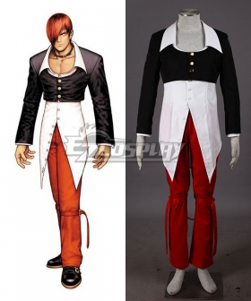 The King of Fighters KOF Iori Yagami Cosplay Costume
