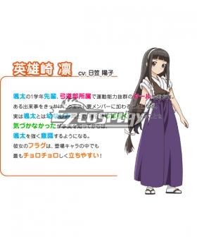 Kanojo ga Flag o Oraretara Eiyuzaki Rin Cosplay Costume