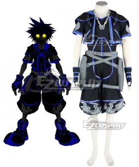 Kingdom Hearts 2 Anti Sora Cosplay Costume