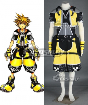 Kingdom Hearts Sora Master Form Cosplay Costumes