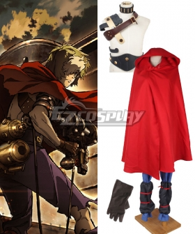 Kabaneri of the Iron Fortress Ikoma Red Cosplay Costume