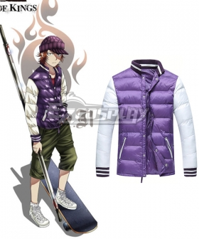 K RETURN OF KINGS Yata Misaki Cosplay Costume - Only Coat
