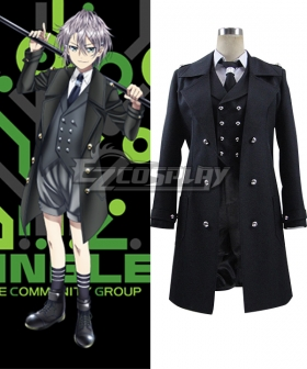 K Return Of Kings Sukuna Gojou Black Cosplay Costume