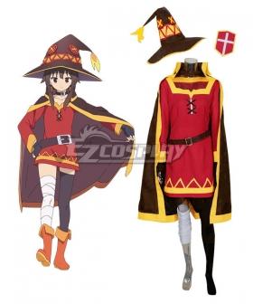 Kono Subarashii Sekai ni Shukufuku o Megumin Cosplay Costume - A Edition