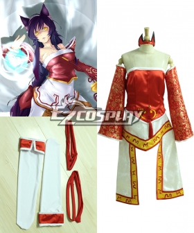 League of Legends Ahri Cosplay Costume