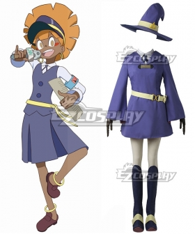 Little Witch Academia Wangari Cosplay Costume