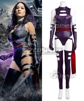 Marvel X-Men: Apocalypse X Men Psylocke Elizabeth Betsy Braddock Cosplay Costume
