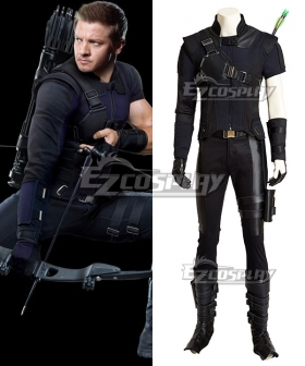 Marvel Captain America Civil War Hawkeye Clinton Francis Barton Cosplay Costume