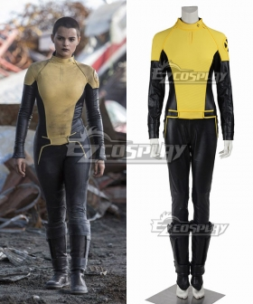 Marvel X-MEN Deadpool Negasonic Teenage Warhead Ellie Phimister Jumpsuit Cosplay Costume
