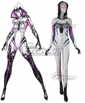 Marvel Spiderwoman Spider Gwen Zentai Gwen Stacy Cosplay Costume