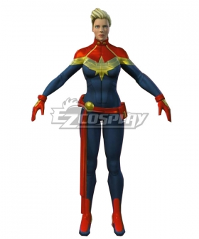 Marvel Captain Marvel Cosplay Costume