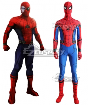 Marvel Spiderman Spider-Man:Homecoming Spider-man Spider man Superhero Peter Parker Halloween Cosplay Costume - No Boots