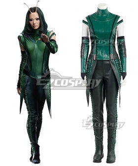 Marvel Guardians of the Galaxy Vol. 2 Mantis Cosplay Costume - No Boot and New Edition