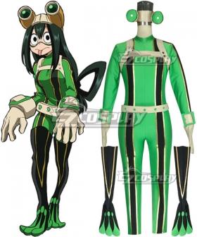 My Hero Academia Boku no Hero Akademia Tsuyu Asui Cosplay Costume
