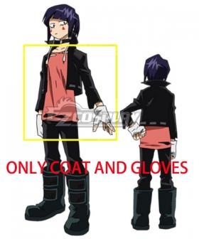 My Hero Academia Boku no Hero Akademia Kyouka Jirou Cosplay Costume  - ONLY COAT AND GLOVES
