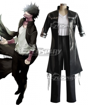 My Hero Academia Boku no Hero Akademia Dabi Cosplay Costume - PU Leather, Spandex