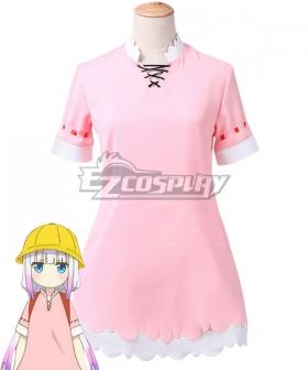 Miss Kobayashi's Dragon Maid Kanna Kamui School Uniform Cosplay Costume