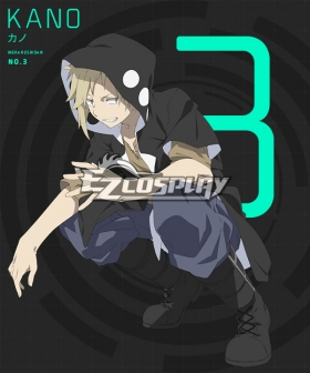 Mekakucity actors Kagerou Project NO.3 Kano Syuuya Cosplay Coat - Only Coat