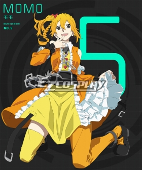 Mekakucity actors Kagerou Project NO.5 Kisaragi Momo Cosplay Costume