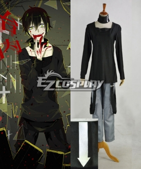 Mekakucity actors Kagerou Project NO.9 Dark Konoha Kokonose Haruka Black Cosplay Costume