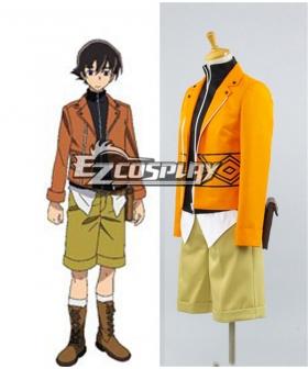 Mirai Nikki Future Diary Amano Yukiteru Cosplay Costume - A Edition