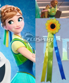 2015 Short Disney Film Frozen Fever Anna Birthday Gift Anna Fever Cosplay Headwear