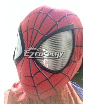 Marvel The Amazing Spiderman 2 Spider-Man Peter Benjamin Parker Mask Head Cap Halloween Cosplay Accessory Prop