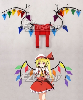 Touhou Project Flandre Scarlet Wings Cosplay Accessory Prop