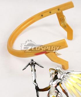 Overwatch OW Mercy Angela Ziegler Headwear Cosplay Accessory Prop