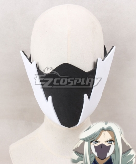 Utawarerumono The False Mask Itsuwari no Kamen Munechika Mask Cosplay Accessory Prop