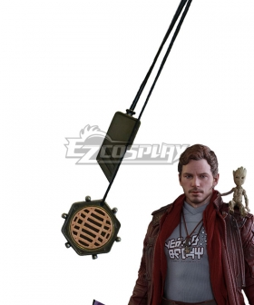 Marvel Guardians of the Galaxy Vol. 2 Star-Lord Peter Jason Quill Necklace Cosplay Accessory Prop