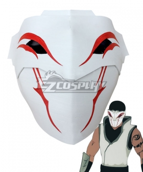 RWBY Volume 2 White Fang Lieutenant Mask Cosplay Accessory Prop
