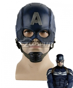Marvel Avengers Captain America Steven Rogers Mask Cosplay Accessory Prop