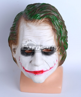DC Comics The Dark Knight Joker Halloween Mask Cosplay Accessory Prop