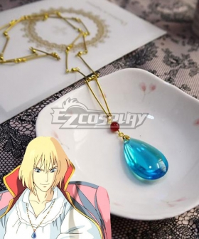 Howl's Moving Castle Howl Necklace Cosplay Accessory Prop