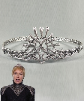 Game of Thrones Season 7 Cersei I Lannister Cersei Lannister Headwear Imperial Crown Silver Cosplay Accessory Prop