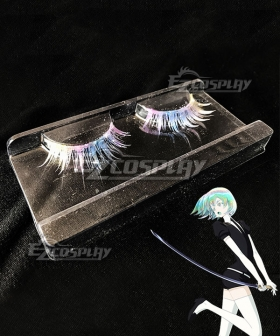 Land of the Lustrous Houseki no Kuni Diamond Multicolour False Eyelashes Cosplay Accessory Prop