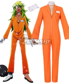 Nanbaka Niko Rock No.25 No.69 Cosplay Costume