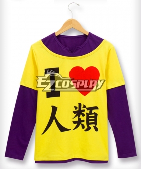 No Game No Life Sora Cosplay Costume - Only Top