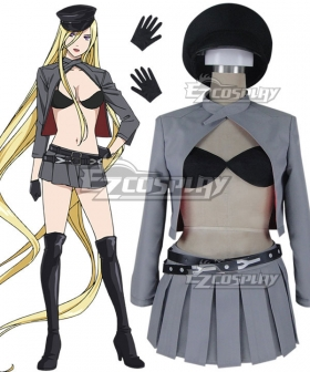 Noragami Aragoto Bishamonten Veena Cosplay Costume - B Edition