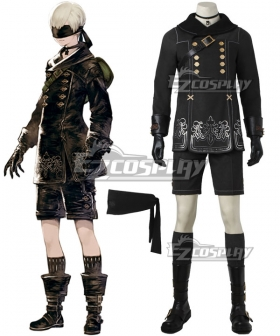 NieR: Automata 9S YoRHa No.9 Type S Cosplay Costume - No Boots